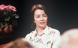 Christine Keeler - Appearing on television discussion After Dark in 1988