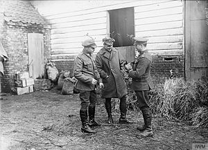20th Hussars - Men of the 20th Hussars, Bailleul, December 1916