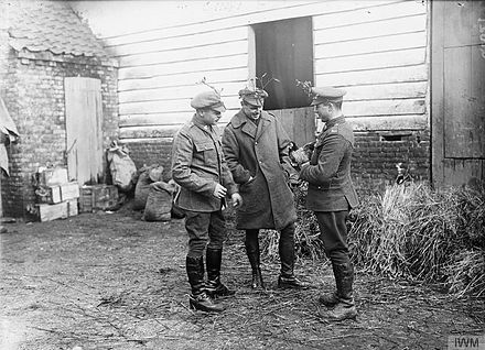 Men of the 20th Hussars, Bailleul, December 1916