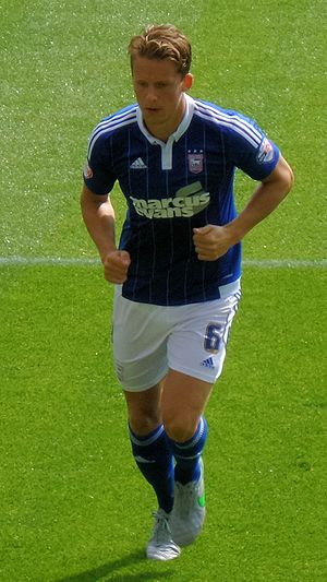 Christophe Berra - Berra playing for Ipswich Town in 2015