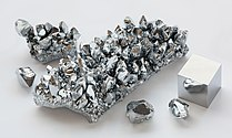 Image: Chromium crystal bar