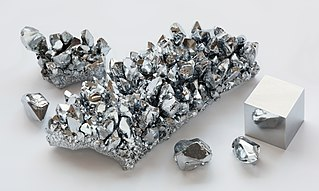 Chromium Chemical element with atomic number 24
