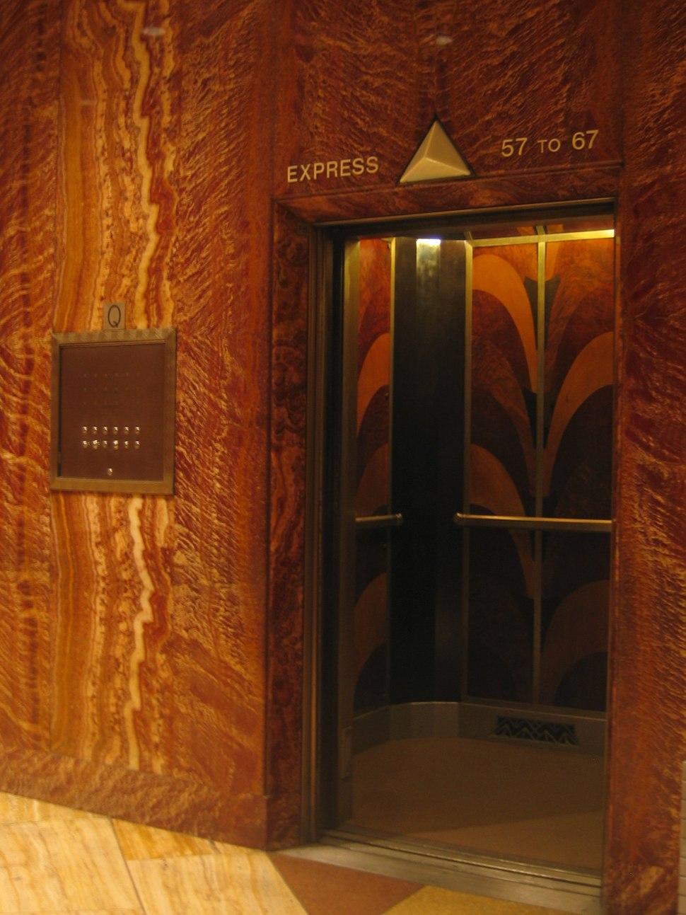 Chrysler express elevator