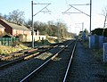 Church Lane Railway Level Crossing, Stone - geograph.org.uk - 1093054.jpg