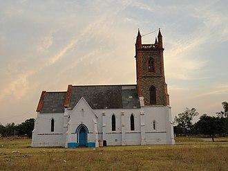 Madhopur, Punjab - Image: Church in Madhopur of british era