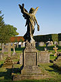 Church of St Mary Little Easton Essex England graveyard monument.jpg