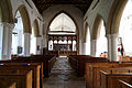 Church of St Mary interior nave and chancel Henham Essex England.jpg