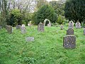 Churchyard, St Mary's Church - geograph.org.uk - 1030023.jpg