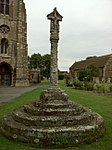 Churchyard Cross approx. 8 Metres West of Chantry Chapel of All Souls