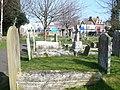Churchyard of All Saints Church Birchington - geograph.org.uk - 1215710.jpg