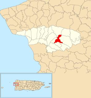 Cidra, Añasco, Puerto Rico Barrio of Puerto Rico