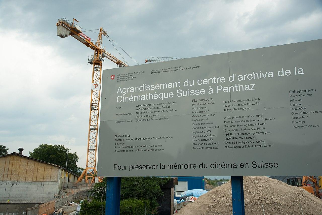 File cinémathèque suisse penthaz travaux g