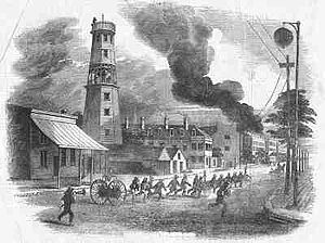 1855 in the United States - Cincinnati riots of 1855