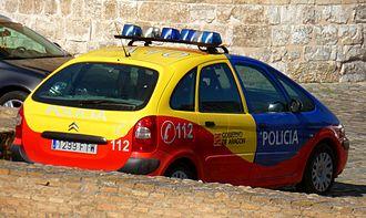 Law enforcement in Spain - Policía Autonómica Aragón