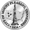 Official seal of Mount Pleasant, Tennessee