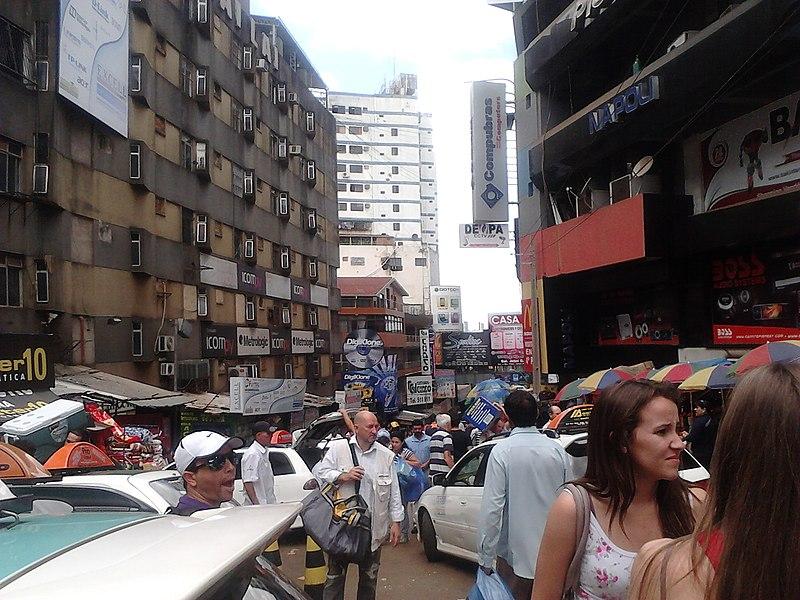 Como é fazer compras no Paraguai