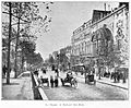 Clément Maurice Paris en plein air, BUC, 1897,149 La Chaussée du Boulevard Saint-Martin.jpg