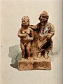 Clay figures in the form of votive offerings made for physic Wellcome V0038916.jpg