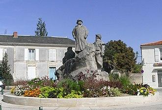 François-Léon Sicard - Image: Clemenceau statue 001
