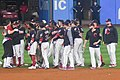 Cleveland Indians 22nd Consecutive Win (37100012552).jpg