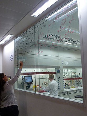 Laboratory of Molecular Biology - A laboratory at the new LMB building in June 2013