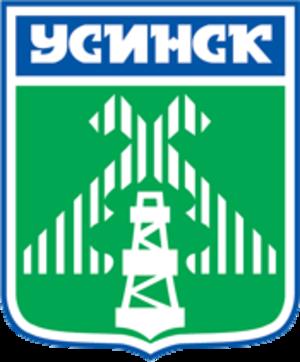 Usinsk - Image: Coat of Arms of Usinsk (Komia)