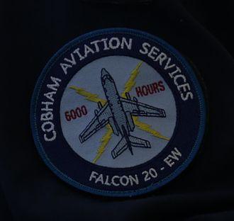 Cobham Aviation Services Australia - Cobham 6000 hours - Falcon 20 EW