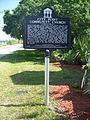 Cocoa FL City Point Comm Church marker01.jpg