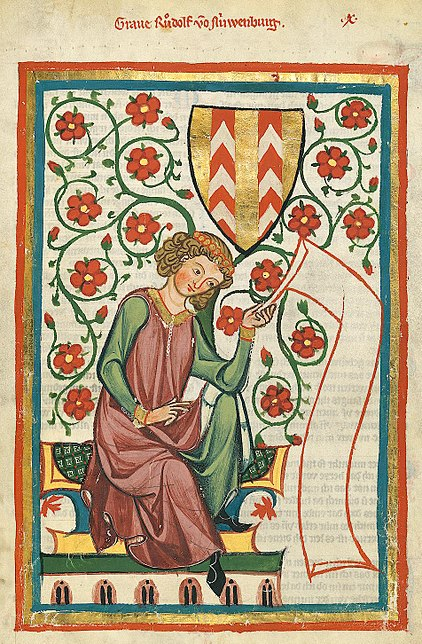 man reading scroll