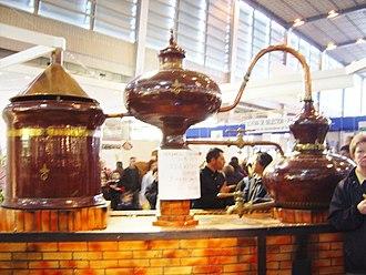Cognac - A Charentais style alembic cognac pot still