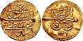 Coin of Nader Shah, minted in Shiraz.jpg