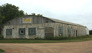 Colby cheese - Original factory southwest of the city of Colby