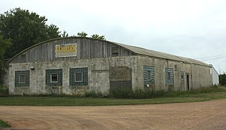 Colby cheese - Original factory southwest of the city of Colby (2012)