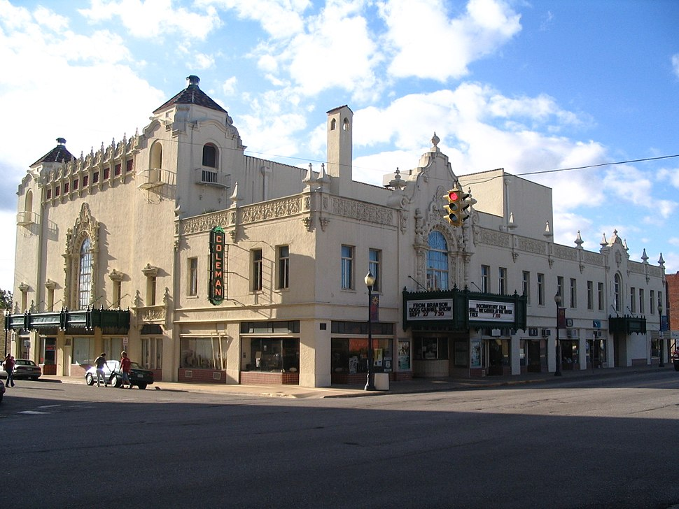 Coleman Theater in Miami, OK