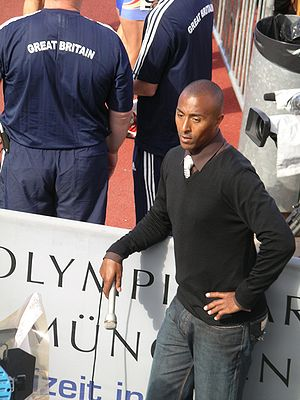 Colin Jackson - Jackson at the 2007 European Cup