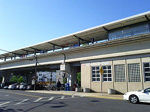 Collingswood station - Image: Collingswood PATCO station in Collingswood, NJ