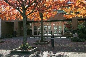 Collingwood School - Front Entrance of Morven Campus
