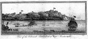 Cape Mesurado - Colonial Settlement at Cape Mesurado