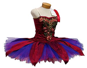 Dance costume - A dance costume used in ballet