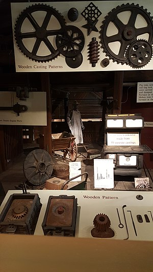 Columbus Ironworks - Image: Columbus Ironworks miscellaneous artifacts