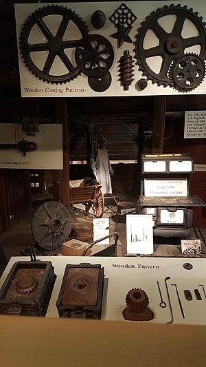 Columbus Ironworks - Image: Columbus Ironworks miscellaneous artifacts