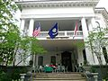 Columns Hotel Front Porch Flags.jpg