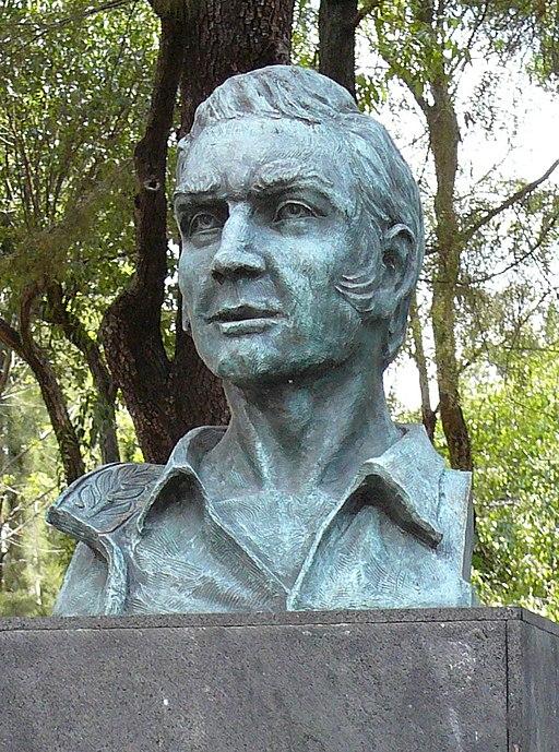 Comandante John Riley 1848, bust Mexico