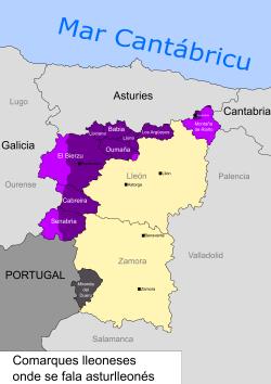 Mapa Del Bierzo Leon.El Bierzo Wikipedia La Enciclopedia Libre