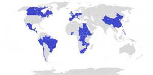 Comboni Missionaries of the Heart of Jesus - Countries where the Comboni Missionaries of the Heart of Jesus are active.