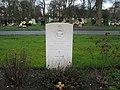 Commonwealth War Grave in Jarrow Cemetery (WW2-25) - geograph.org.uk - 1604983.jpg