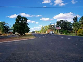 Condamine, Queensland Town in Queensland, Australia