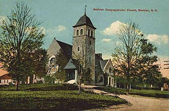 Plainfield, New Hampshire - Image: Congregational Church in Meriden, NH