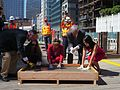 Congresswoman Pelosi at the concrete pour of the new Transbay Transit Center (9938837233).jpg