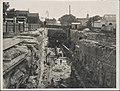 Construction of railway tunnel approach to Sydney Harbour Bridge, 1927 (8283776656).jpg